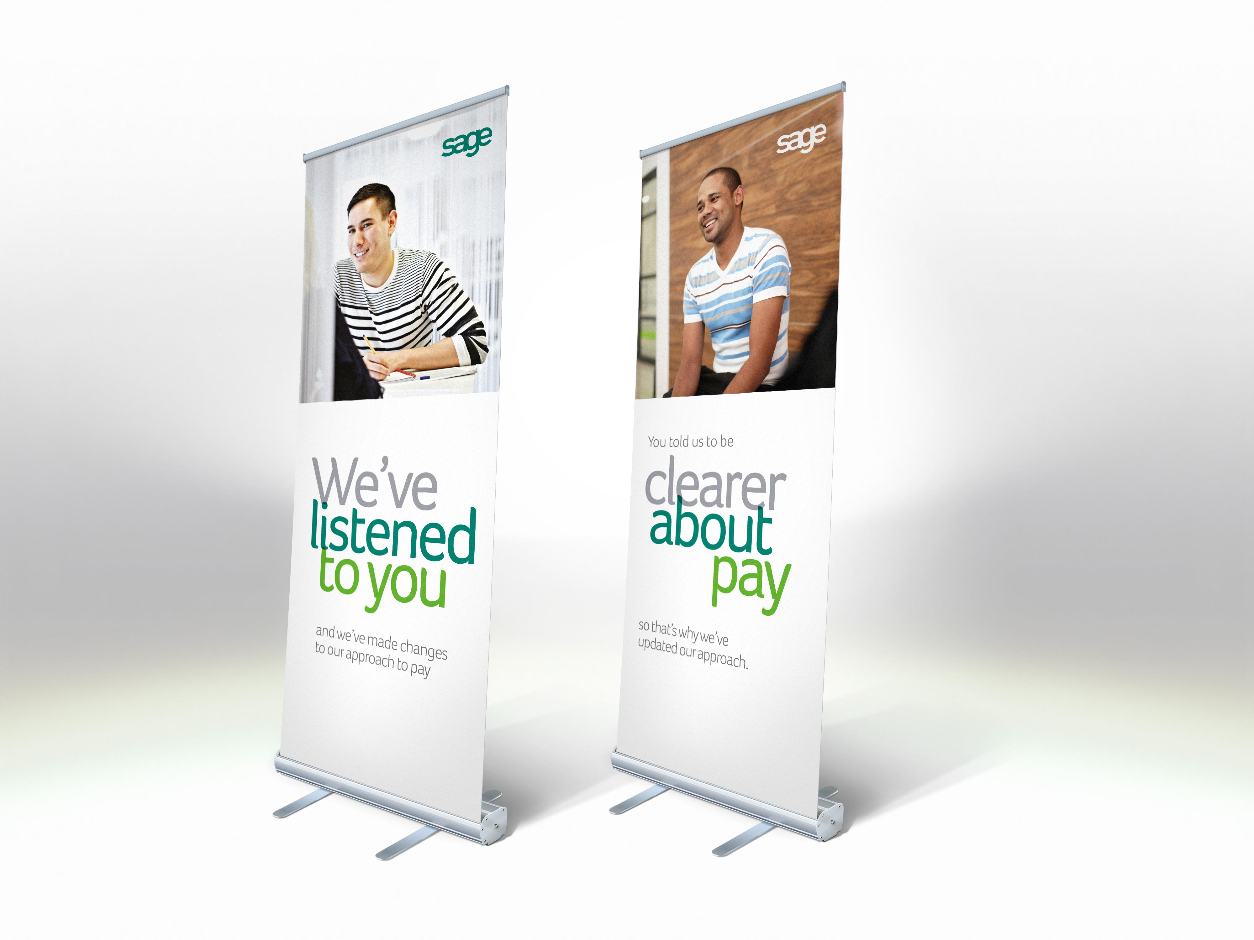 roller banners pop up banners pull up banners print specialists posters. Black Bedroom Furniture Sets. Home Design Ideas
